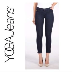 Second Yoga Dark Wash Ankle Jeans
